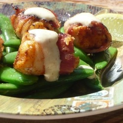 Bacon Wrapped Monkfish