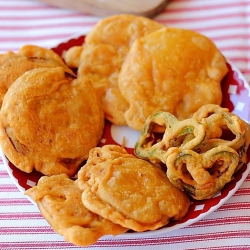 Bajji Indian Vegetable Fritters Recipe