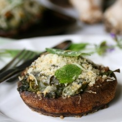 Baked Portabella Mushrooms
