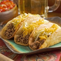 Beef Tacos with Homemade Taco Shells
