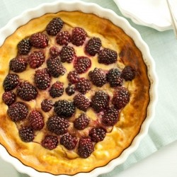 Blackberry Pancake Tart