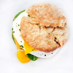 Buttermilk Biscuit Breakfast Sandwiches