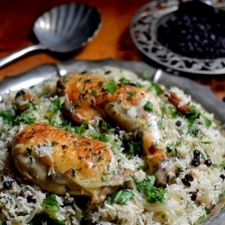 Chicken with Caramelized Onions Recipe