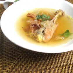 Chinese Sharkfin Melon Soup
