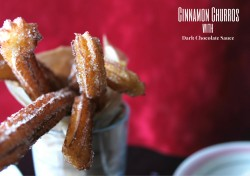 Chocolate Cinnamon Churros Recipe
