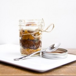 Chocolate Pecan Pie in a Jar Recipe
