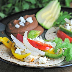 Citrus Chicken Fajitas Gluten Free Recipe