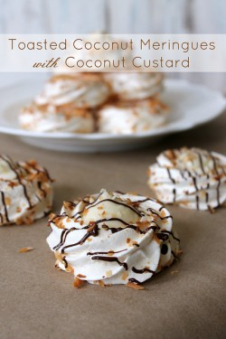 Coconut Meringues with Toasted Coconut Recipe