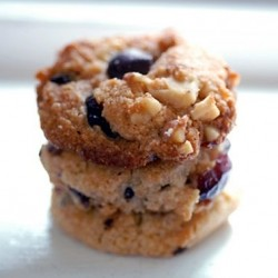 Cranberry Walnut Chocolate Chip Cookies