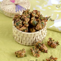 Easy Spinach Fritters Recipe