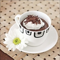 Eggless Chocolate Pots de Crme that takes very little…