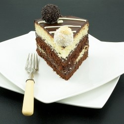 Ferrero Rocher White and Dark Chocolate Cake