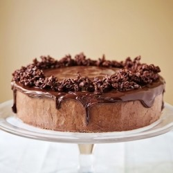 Four Layer Chocolate Mousse Cake Recipe