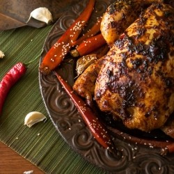 Ginger Chili Roast Chicken Recipe