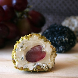 Goat Cheese Covered Grapes Recipe