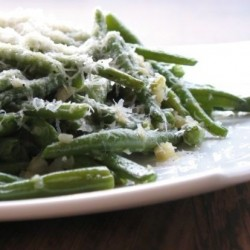 Green Beans with Garlic and Parmiggiano Reggiano