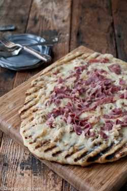 Grilled Reuben Pizza Recipe