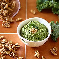 Kale-Walnut Pesto