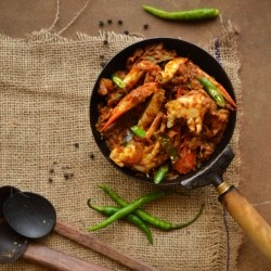 Kerala Crab Roast Recipe