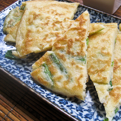 Korean Green Onion Pancakes
