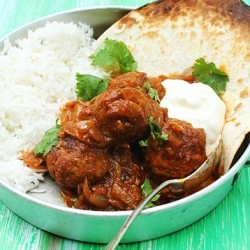 Lamb Meatballs in Spicy Curry Recipe