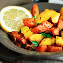 Mango Carrot Side Dish