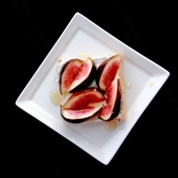 Mascarpone Fig Honey Toast