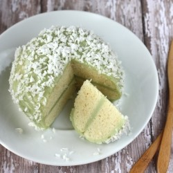 Mount Fuji Sponge Cake Recipe