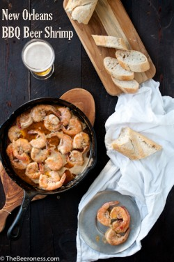 New Orleans Barbecue Beer Shrimp Recipe