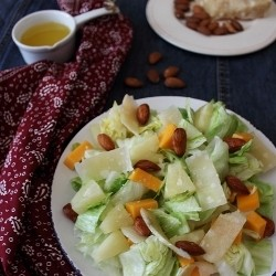Pineapple and Cheddar Cheese Salad