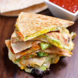 Quesadillas Five Ways Recipes