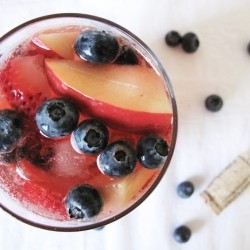 Red White Blue Berry Sangria