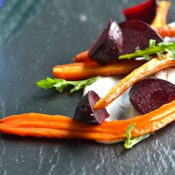 Roasted Beets and Carrots with Cumin Dressing Recipe