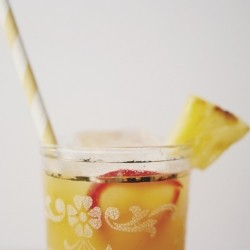 Roasted Pineapple Lemon Limeade