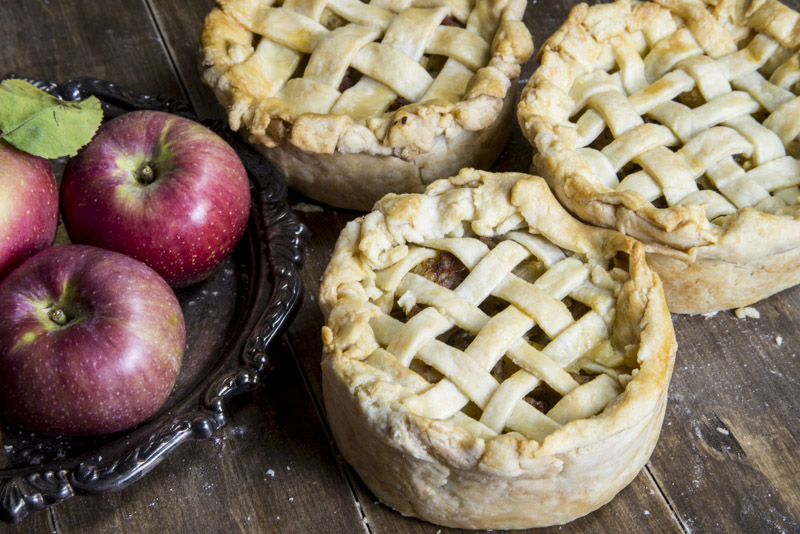Savory Sausage and Apple Pies Recipe