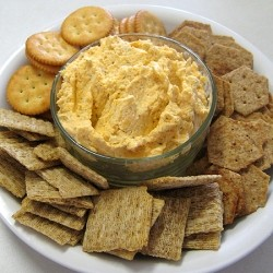 Sharp Cheddar Pepper Jack Cream Cheese Spread