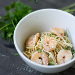 Shrimp and Noodles Recipe
