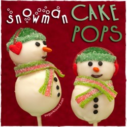 Snowman Cake Pops Tutorial