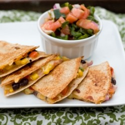 Spicy Veggie Quesadilla Recipe