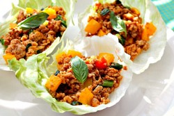 Thai Chicken Lettuce Wraps Recipe