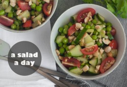 Thai Pea and Cucumber Salad Recipe