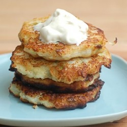 Turnip Potato Patties