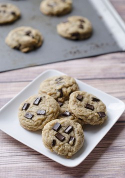 Vegan Peanut Butter Coconut Chocolate Chip Cookies Recipe