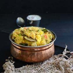 Vegetable Rava Biryani Recipe