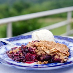 Blueberry Strawberry Crisp Recipe