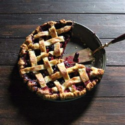 Blueberry Strawberry Pie Recipe
