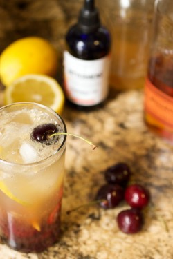 Cherry Bourbon Lemonade