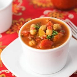 Chickpea Chili Slow Cooker Recipe