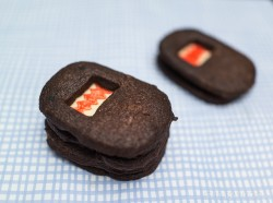 Chili Chocolate Domo Cookies