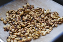 Chilli Roasted Squash Seeds Recipe